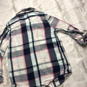 jumping beans Shirts & Tops - 💥5/$25 SALE! Girls 6 flannel button up shirt